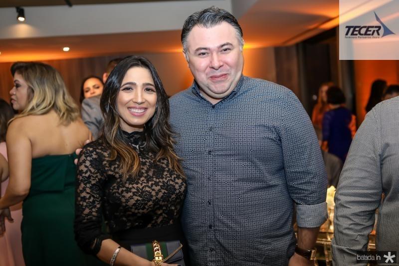 Renata Marinho e Andre Monte