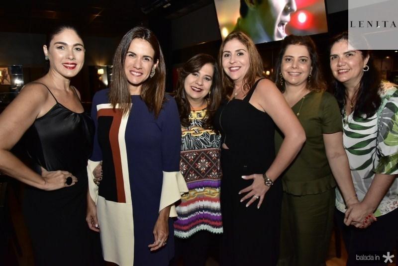 Isabella Fiuza, Ana Virginia Martins, Martinha Assuncao, Cristiane de Farias, Claudia Gradvohl e Natasha Martins