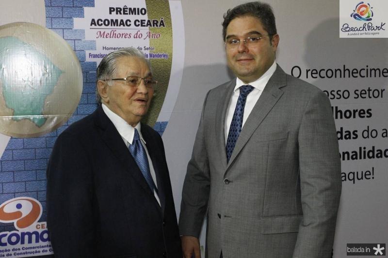Francisco Lavanery e Edson Queiroz