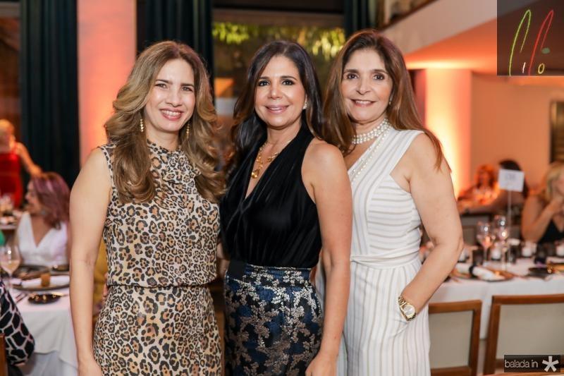 Karmilse Marinho, Maria Lucia Negrao e Cristiane Figueiredo