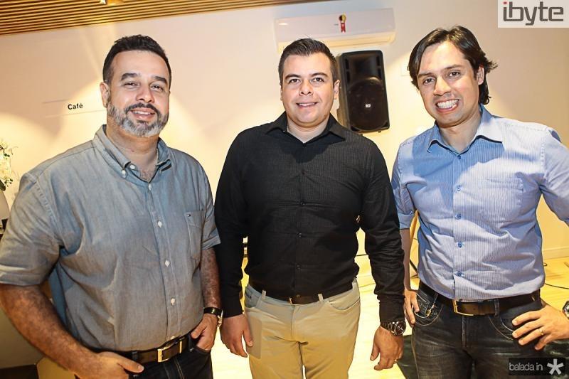 Joao Santana, Diego Barroso e Carlo Medina