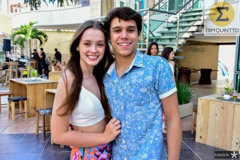Maria Tereza Machado e Tiago Siqueira