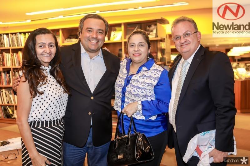 Sonia Cavalcante, Eduardo Pragmacio, Francisca Castelo Branco e Fernandes Neto