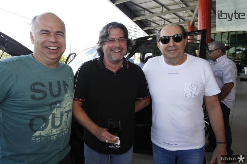 Marcio Menezes, Jorge Vieira e Gigi Lima
