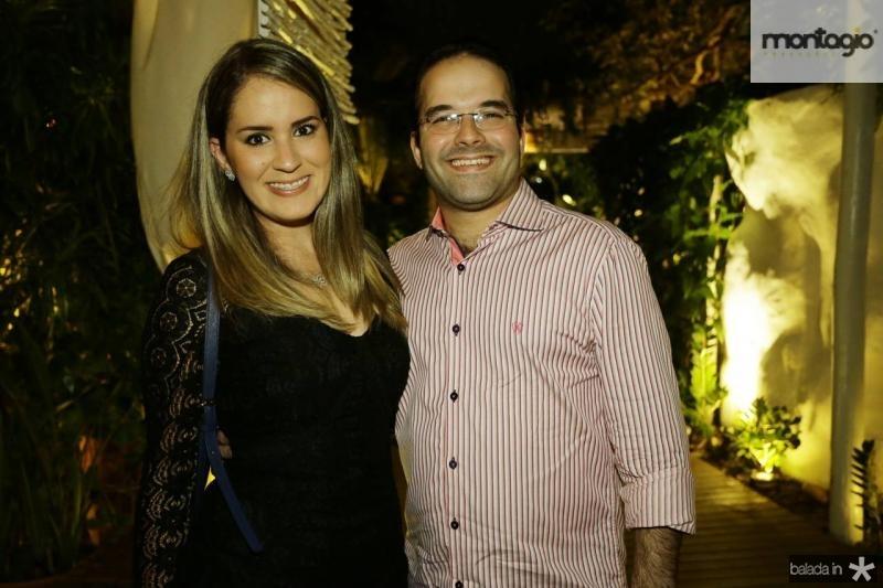 Sabrina e Felipe Costa Lima