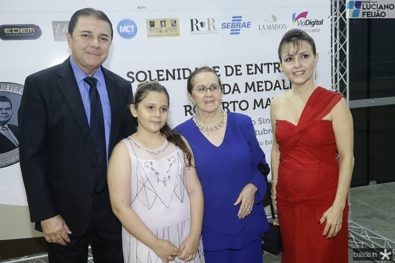 Eliseu Barros, Beatriz e Zenilde Matoso e Circe Jane