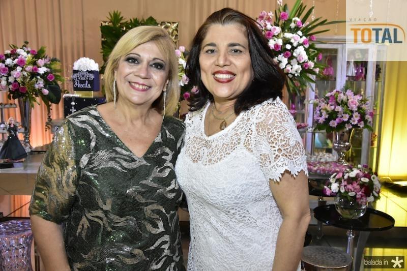 Priscila e Eva Cavalcanti