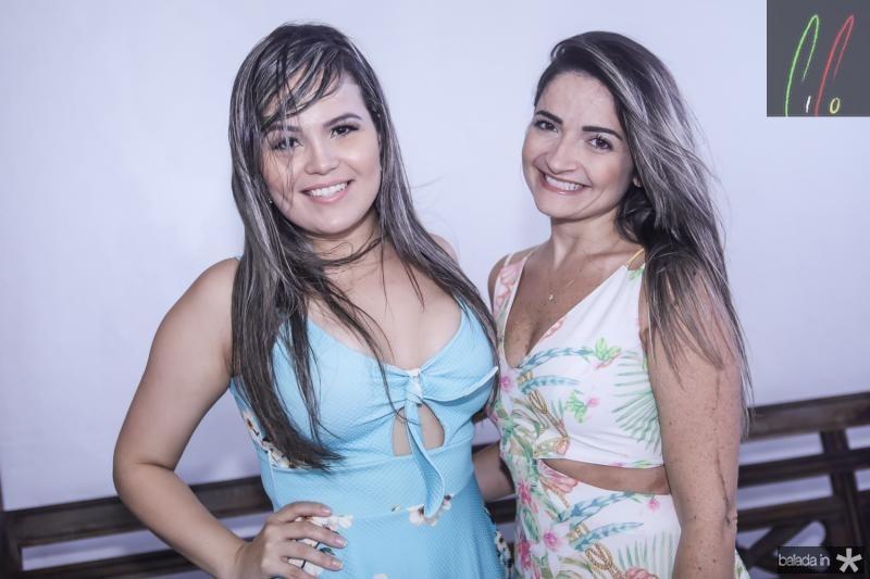 Vanessa Lobao e Karina Nascimento