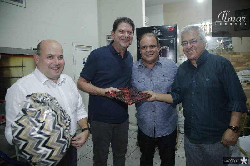 Roberto Claudio, Cid Gomes, Roberto Moreira e PC Noroes 1