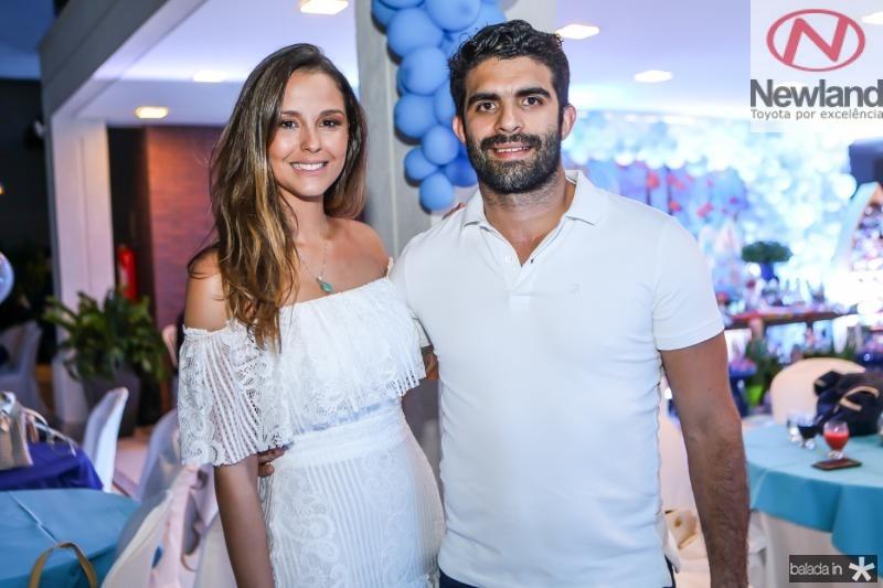 Mariana Vasconcelos e Elizeu Becco