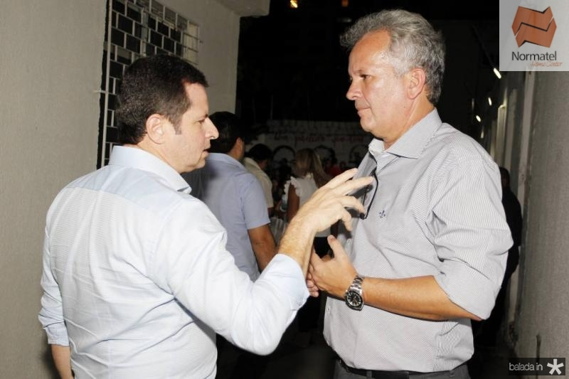 Marcos Andre Borges e Andre Figueiredo