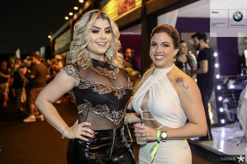 Gabriela Braga e Gabriele Dias