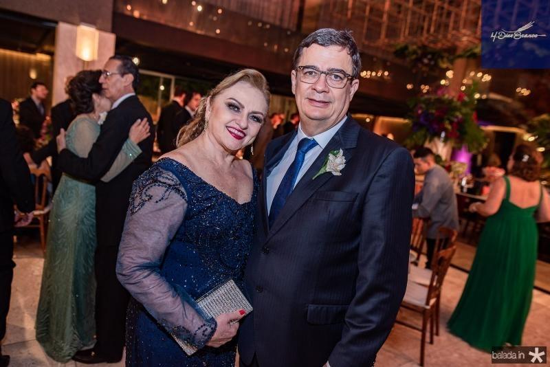 Viviane e Eder Miranda