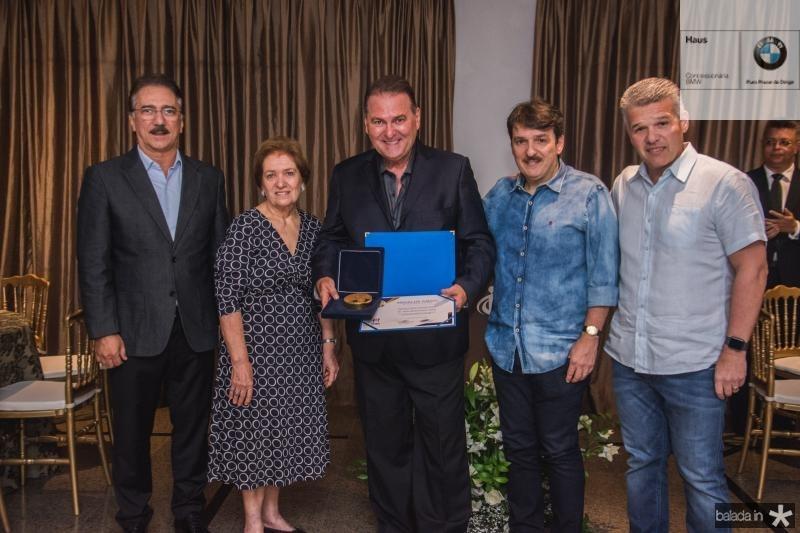 Helder Montenegro, Elisinha Feitosa, Jorio da Escossia, Raimudo Feitosa e Ferruccio Feitosa