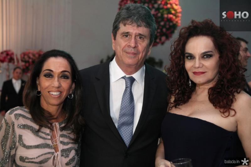 Marcia e Marcio Tavora e Lisieux Brasileiro