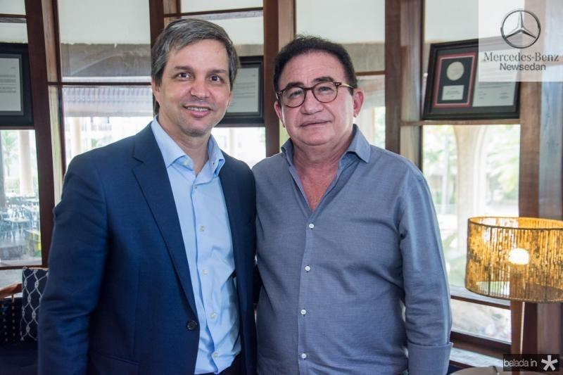 Romulo Soares  e Manoel Linhares