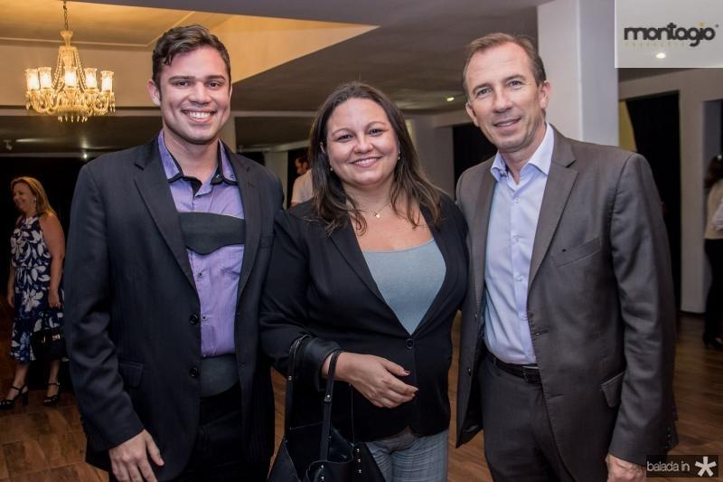 Kleyberg Guimaraes, Catarina Martins e Philippe Godefroit