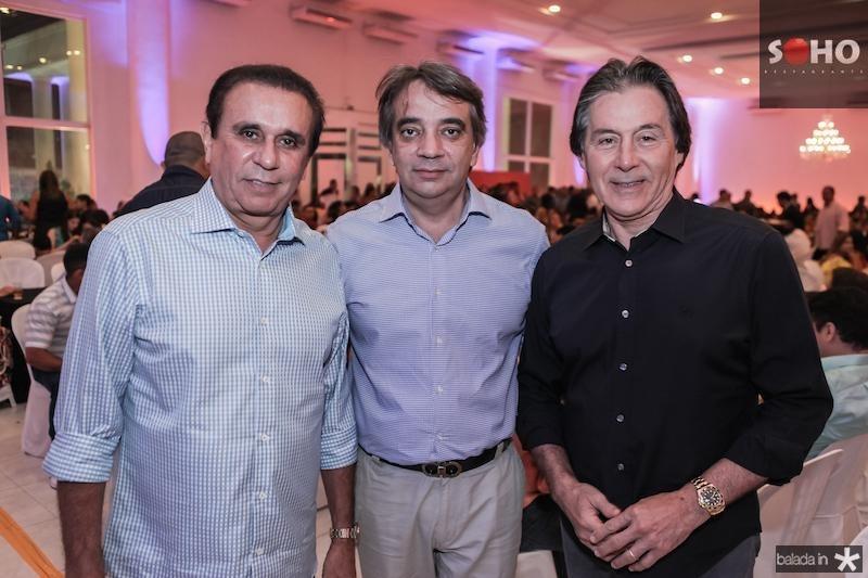 Gaudencio Lucena, Carlos Gualter Lucena e Eunicio Oliveira
