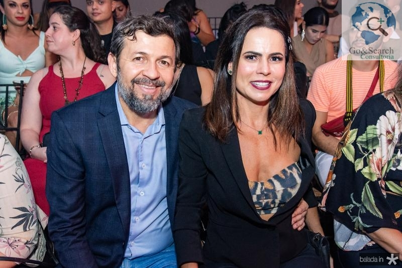 Elcio Batista e Luciana Sousa
