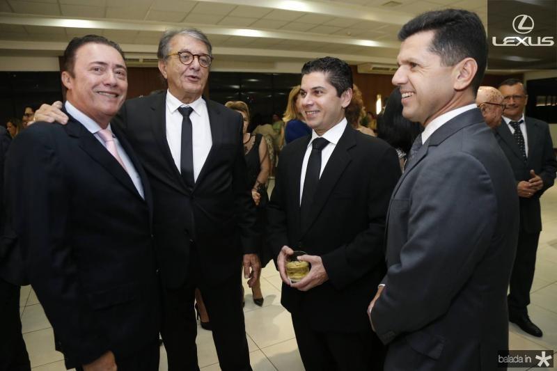 Darlan Leite, Arialdo Pinho, Pompeu e Erick Vasconcelos