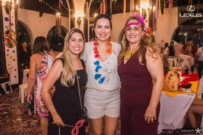 Georgeanne Benevides, Onelia Leite e Marisa Benevides