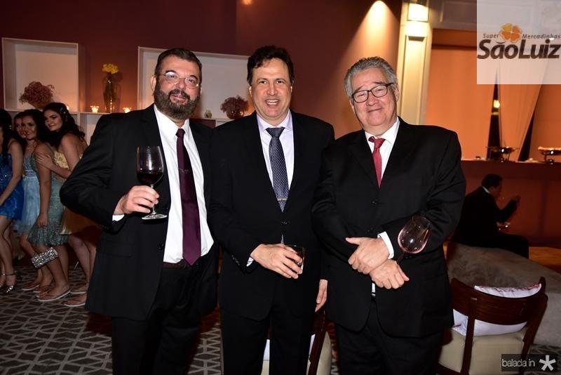 Danilo Arruda, Ricardo Lopes, Gilson Gondim