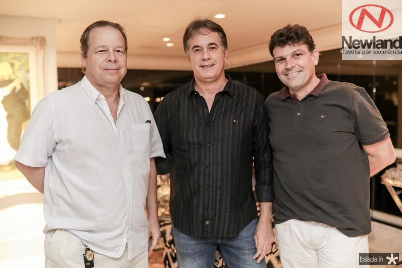 Francisco Ventura, Marcos Pessoa e Luis de Amaro Brito