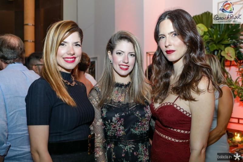 Ana Macedo, Raquel Macedo e Marcela Mota