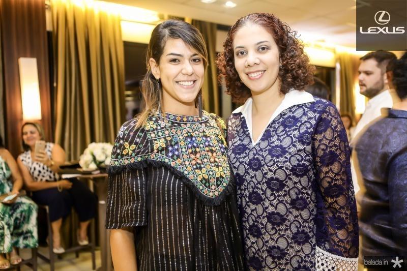 Juliana de Fatima e Juciana Gurgel