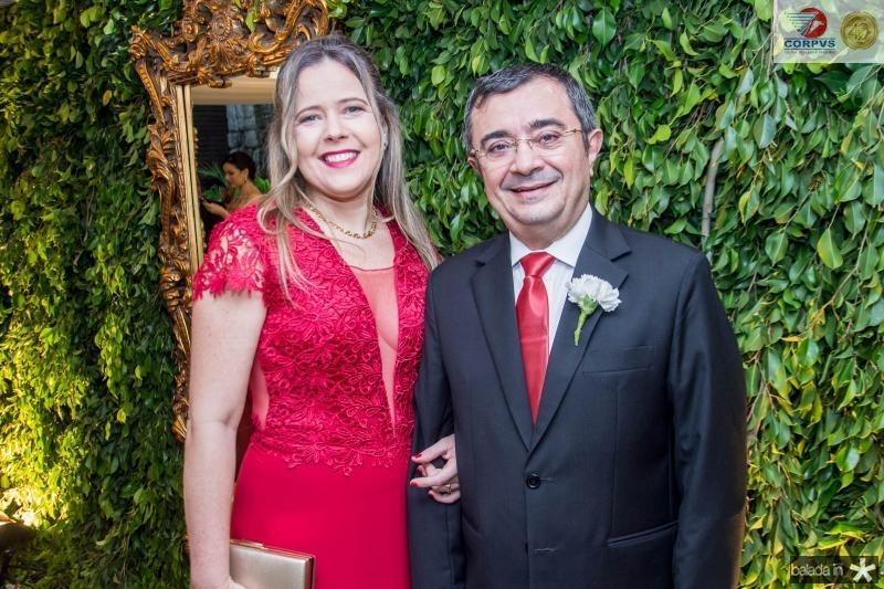 Karina Bessa e Ricardo Valente