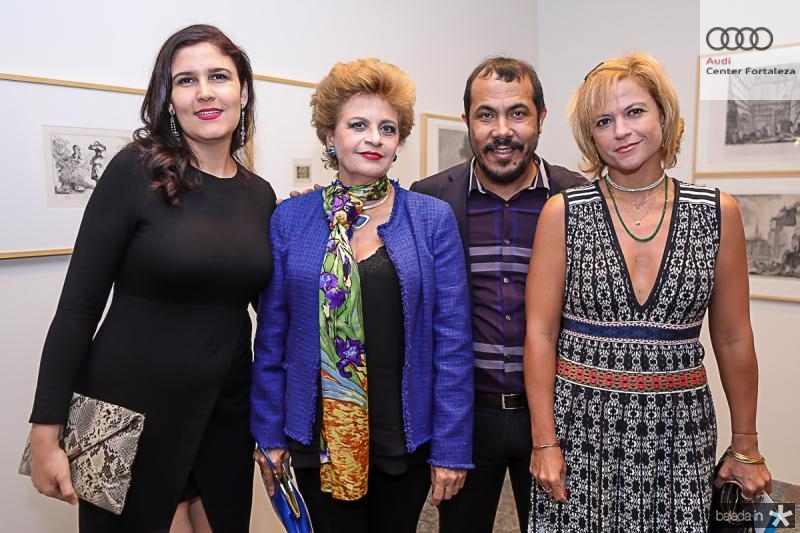 Janis Lyn, Ana Virginia Juacaba, Antonio Almeida e Andrea Juacaba