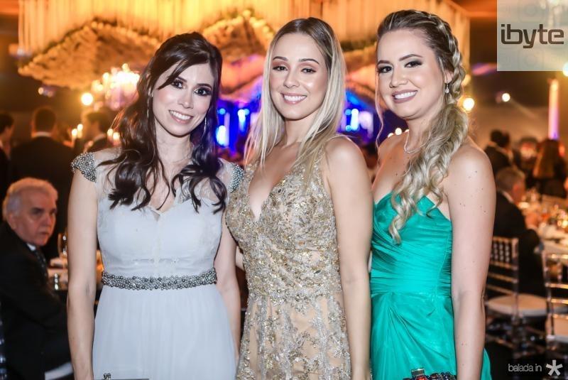 Gisele Paiva, Mariane Mourao e Ranna Joca