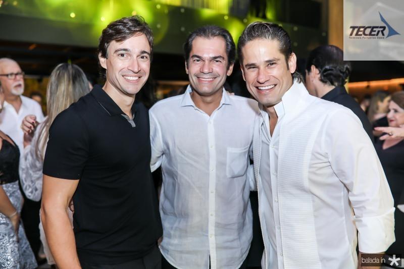 Rodrigo Carvalho, Candido Pinheiro e Davi Rodrigues