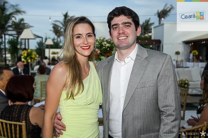Marina Pieron e Vitor Pinheiro