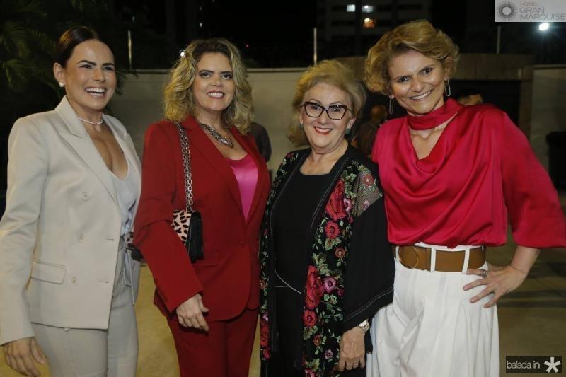 Luciana Souza, Valeska Rolim, Socorro e Joseana Franca