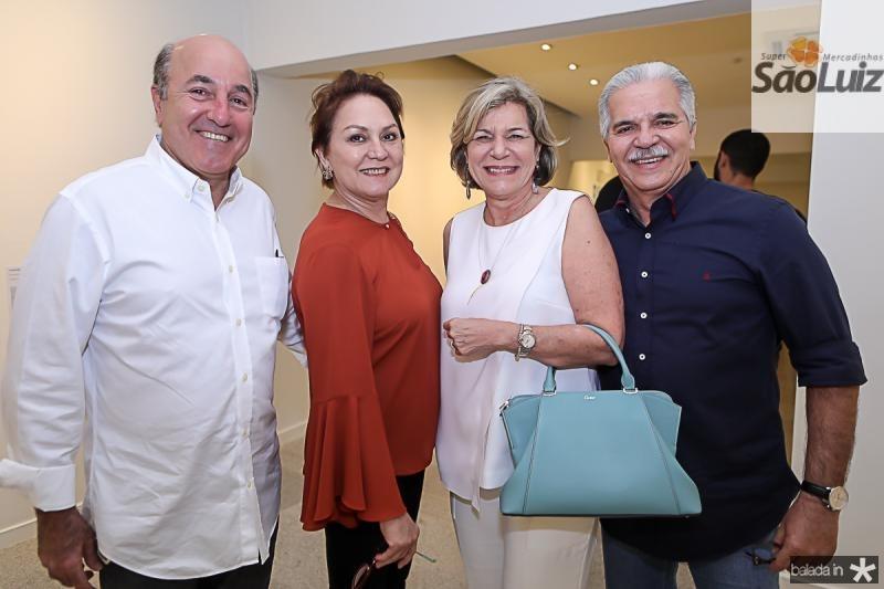 Silvio e Paula Frota, Stella e Pio Rodrigues