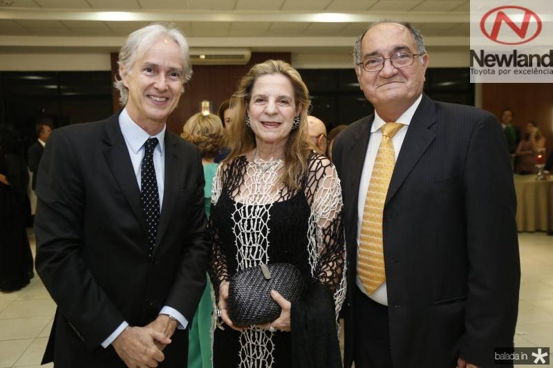 Marcos Pompeu, Anya Ribeiro e Iramar Verissimo