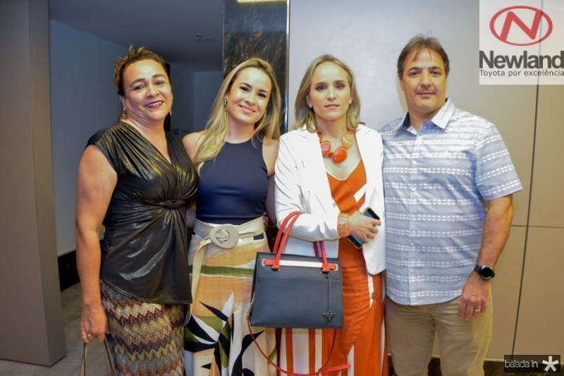 Sarah Carneiro, Sarah Catarina, Fernanda e Marcos Pacobahyba