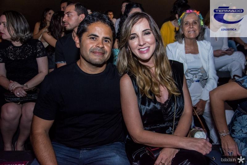 Alfredo Savio e Kaline Ferraz
