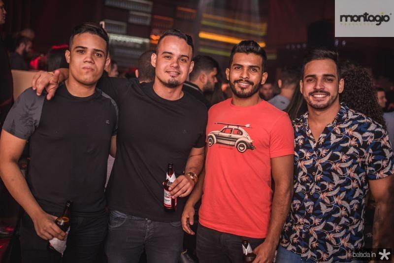 Caio Lima, Paulo Maximo, Raul Oliveira e Felipe Castro