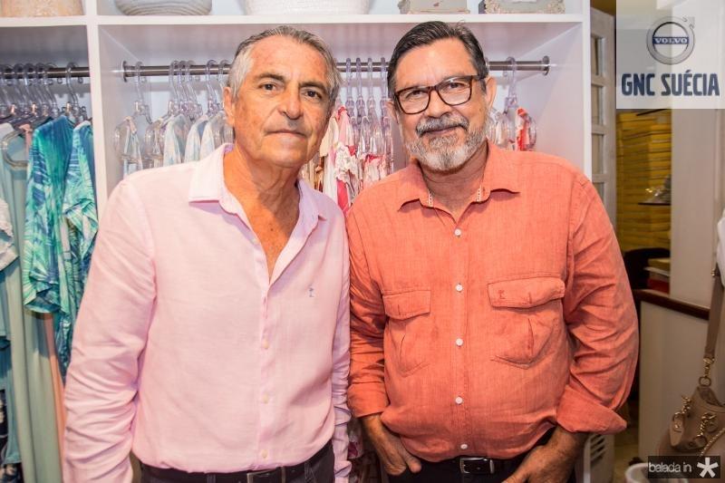 Alfredo Gurjao e Mauricio Cals