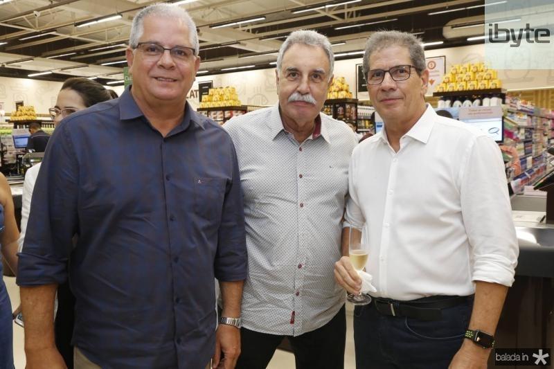 Fernando Ramalho, Cesar Roma e Severino Neto