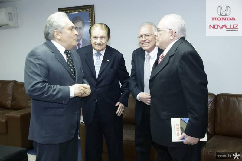 Luiz Pontes, Mauro Benevides, Cesar Barreto e Gonzaga Mota