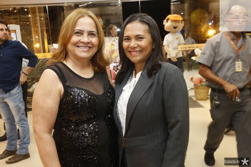 Socorro Carneiro e Arlene Lima