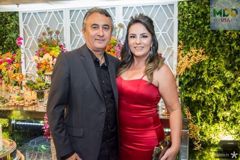 Fernando Falcao e Raquel Falcao