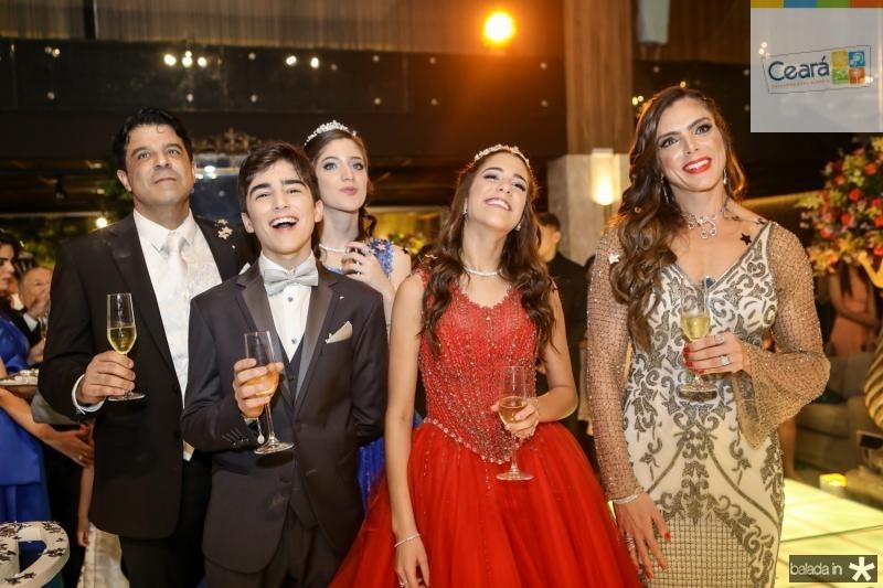 Parabens a Isabel, Miguel e Beatriz Otoch