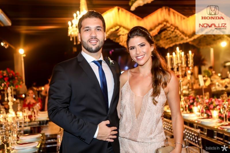 Guilherme Albuquerque e Natalia Benevides