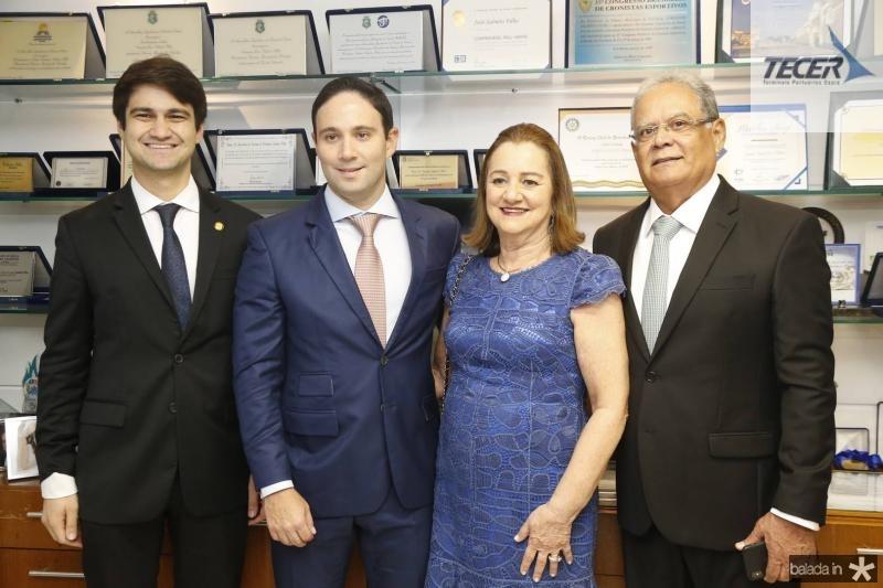 Pedro Gomes de Matos, Thiago Asfor, Gerusa e Jose Maria Lima