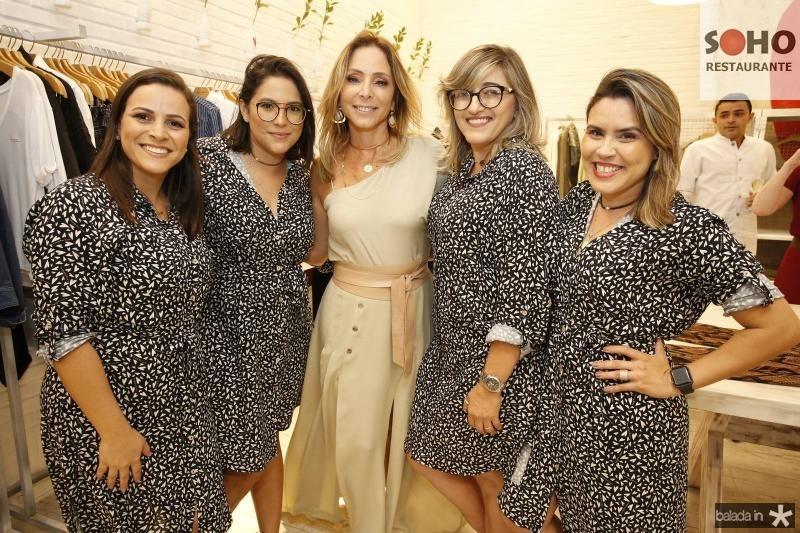 Rayanna de Freitas, Isadora Grangeiro, Ana Paula Daud, Susama Mendonca e Ariadna Menezes