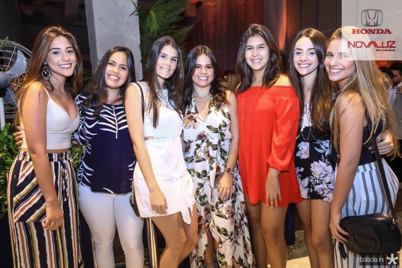 Ana Rocha, Marilia Ximenes, Beatriz Macedo, Leticia Studart, Camila Ribeiro, Bruna Shimidt e Mariana Gontijo